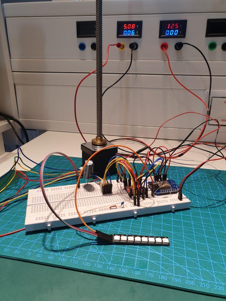 Erste Integration Wohnzimmerlampe