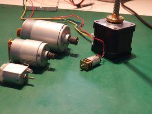 Vergleich mehrerer Motoren